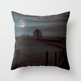 Moon Tor Throw Pillow