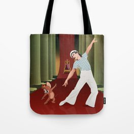 Gene and Jerry Tote Bag