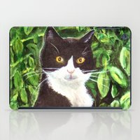 kitty iPad Cases featuring Kitty by gretzky