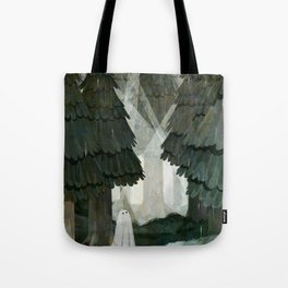 Pine Forest Clearing Tote Bag