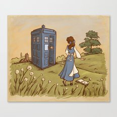 Adventure in the Great Wide Somewhere Canvas Print