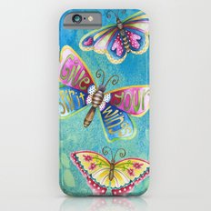 Give Your Spirit Wings  iPhone 6s Slim Case