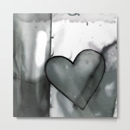 Heart Dreams 1N by Kathy Morton Stanion Metal Print