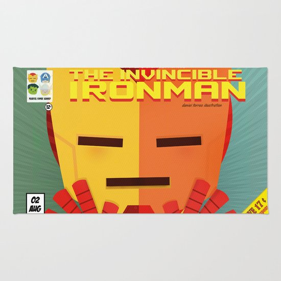 ironman fan art Rug