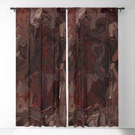 Drippy Wisdom Blackout Curtain