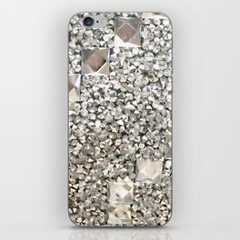 Diamond Chips Pattern iPhone Skin