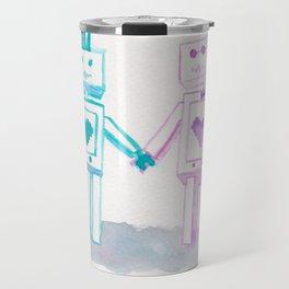 Punkbot in Love Travel Mug