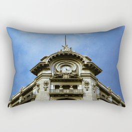 Mexican building Rectangular Pillow