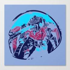 Mechanical Mayhem Canvas Print