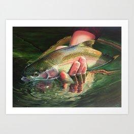 Catch the Rainbow Art Print