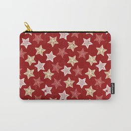 Festive Stars Carry-All Pouch