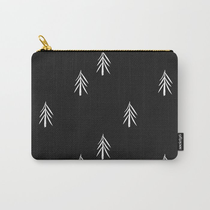nordic fir trees Carry-All Pouch