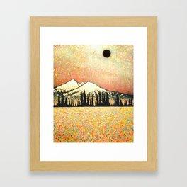 """Nibiru Returns"" Landscape painting Framed Art Print"