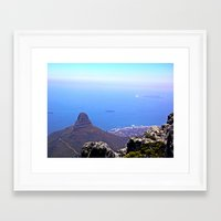 south africa Framed Art Prints featuring South Africa Impression 9 by Art-Motiva
