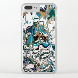 Undefined Lines Clear iPhone Case
