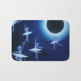 Dancing into the Void Bath Mat