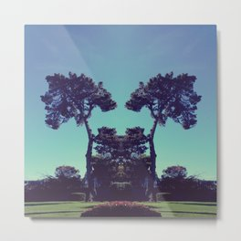 ink blot tree  Metal Print