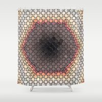 mosaic Shower Curtains featuring Mosaic by Mr & Mrs Quirynen