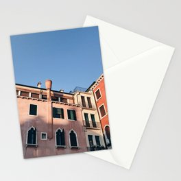 Afternoon Sun / Venice, Italy Stationery Cards