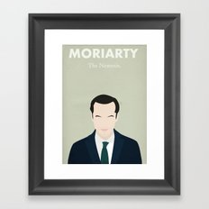 Moriarty - The Nemesis Framed Art Print