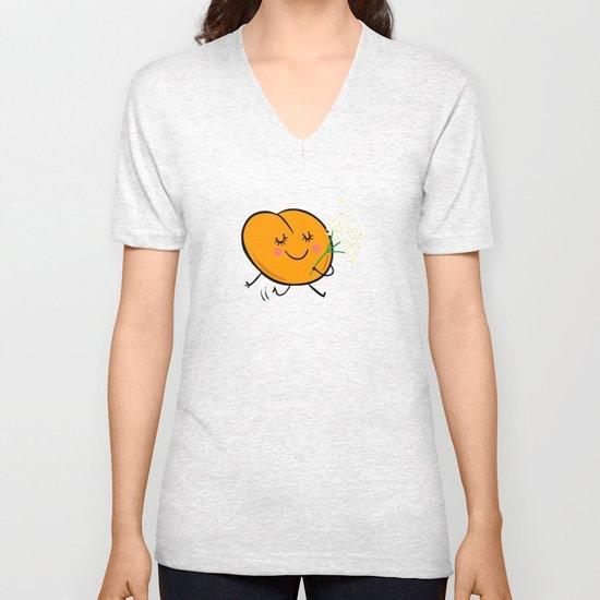 Apricot St Germain Unisex V-Neck