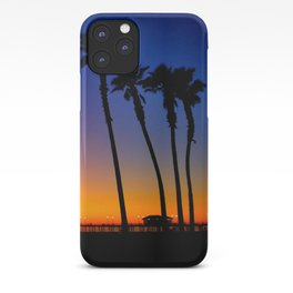 Huntington Beach Sunset 1 iPhone Case