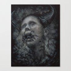 The Black Garden Canvas Print