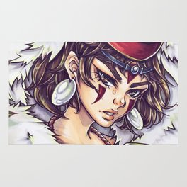 Princess Mononoke - San Rug