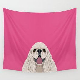 Harper - Cocker Spaniel phone case gifts for dog people dog lovers presents Wall Tapestry