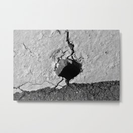 Heart Shadow Metal Print