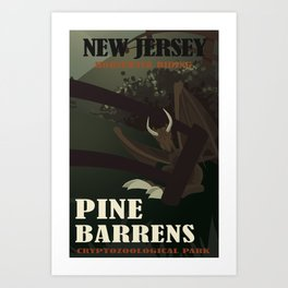 CPS: Pine Barrens, NJ Art Print