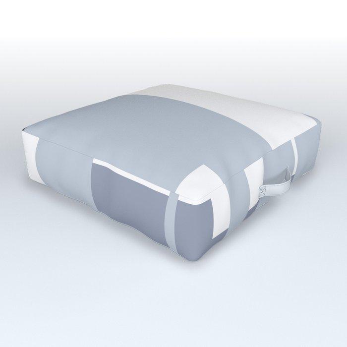 Mesa in Blue Outdoor Floor Cushion
