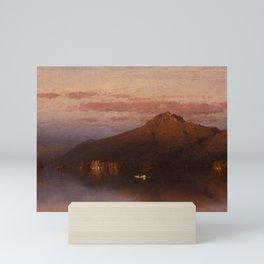 Sanford Robinson Gifford - Whiteface Mountain from Lake Placid Mini Art Print