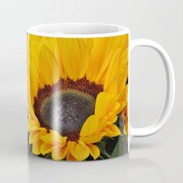 Golden Sunflowers Coffee Mug