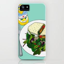 Healthy Falafel Wrap Lunch iPhone Case