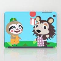 animal crossing iPad Cases featuring Animal Crossing by Alex Owen