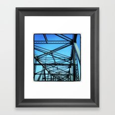 Beams and Joints Framed Art Print