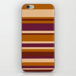 90's Stripes iPhone Skin