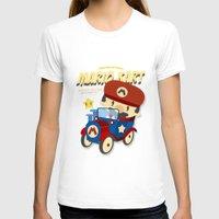 mario kart T-shirts featuring mario kart vintage by danvinci
