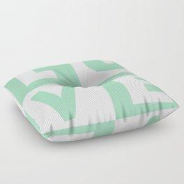Love Mint Floor Pillow