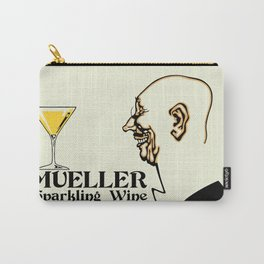 Mueller sparkling wine Carry-All Pouch