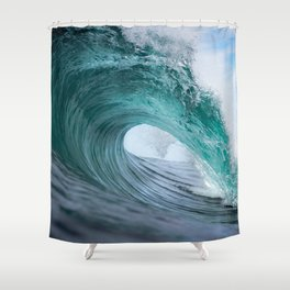 Funnel Shower Curtain