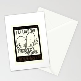 I'll Love You Forever I Think Stationery Cards