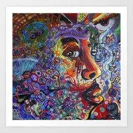 """Jones"" Art Print"