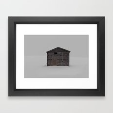 always where they said it'd be Framed Art Print