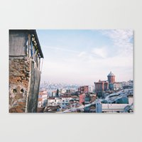 istanbul Canvas Prints featuring Istanbul by Didi Jean