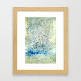 Go (part two of three) Framed Art Print