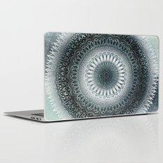 WINTER LEAVES MANDALA Laptop & iPad Skin