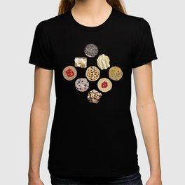 Cookies in Black T-shirt