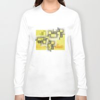 labyrinth Long Sleeve T-shirts featuring Labyrinth by Sally Rud